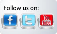 Follow us on social network website